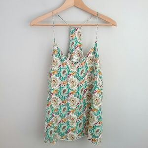 Style Rack Colorful Paisley Tank Top